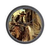 NC Wyeth Vintage Cowboy Wall Clock