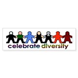 Diversity Bumper Bumper Sticker