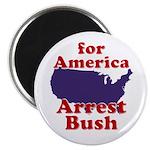 For America, Arrest Bush Magnet