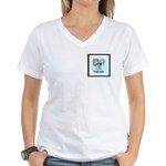 Estonians Women's V-Neck T-Shirt