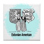 Estonians Tile Coaster