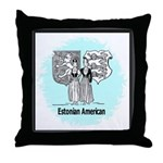 Estonians Throw Pillow