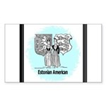 Estonians Rectangle Sticker 10 pk)