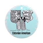 Estonians Ornament (Round)