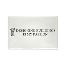 Designing Buildings Architecture Rectangle Magnet