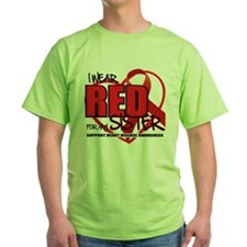 HD: Red For Sister T-Shirt