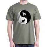 Yin Yang Elkhound T-Shirt