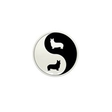 Yin Yang Pembroke Mini Button (100 pack)