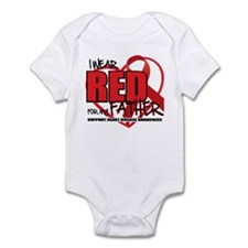 HD: Red For Dad Infant Bodysuit
