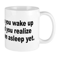 Humorous Stress Quote Mug