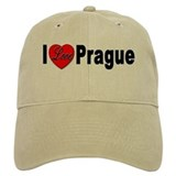 I Love Prague Baseball Cap