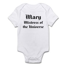 Personalized Mary Infant Bodysuit