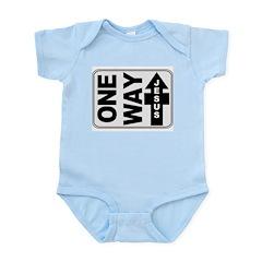 One Way Jesus Christian Infant Creeper
