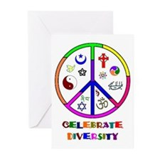 Celebrate Diversity Greeting Cards (Pk of 10)