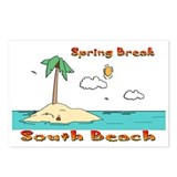Spring Break South Beach Postcards (Package of 8)