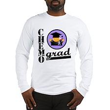 Chemo Grad Cancer Long Sleeve T-Shirt