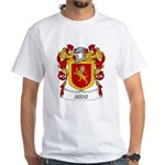 Rhys Coat of Arms White T-Shirt