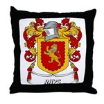 Rhys Coat of Arms Throw Pillow