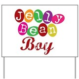 Jelly Bean Boy Yard Sign