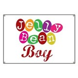 Jelly Bean Boy Banner