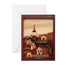 Mountain Village Greeting Cards (Pk of 10)