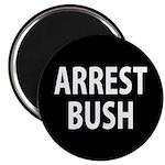 Black Arrest Bush Magnet