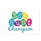 Egg Hunt Champ Postcards (Package of 8)