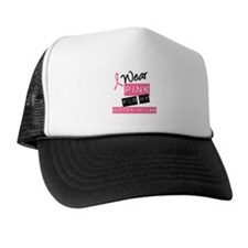 I Wear Pink Sister-in-Law Cap