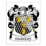 Travers Coat of Arms Small Poster
