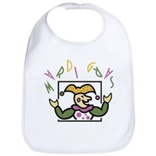 Mardi Gras Party Jester Bib