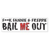 BAIL ME OUT Bumper Car Sticker