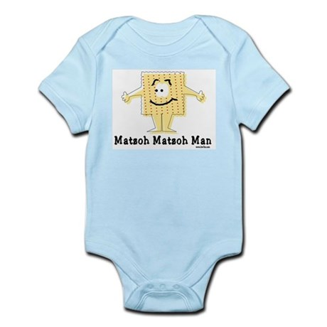 Matzoh Man Passover Infant Bodysuit