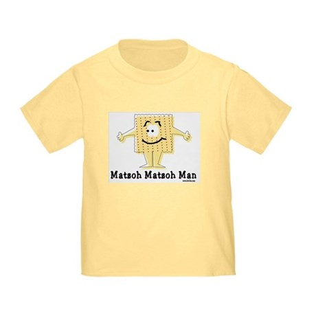 Matzoh Man Passover Toddler T-Shirt