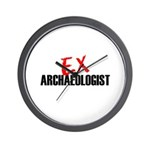 EX Archaeologist Wall Clock