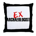EX Archaeologist Throw Pillow