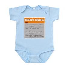 Baby Blog Infant Bodysuit