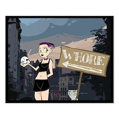 Germaine & Foamy City Scene Posters