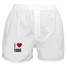 I LOVE YAHIR Boxer Shorts