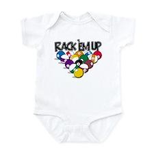 Rack Em Up Pool Infant Bodysuit
