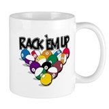 Rack Em Up Pool Coffee Mug