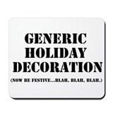 Generic Holiday Gear Mousepad