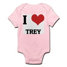 I Love Trey Infant Creeper