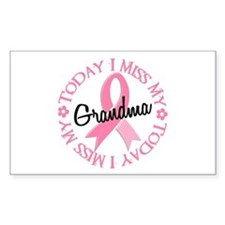I Miss My Grandma 2 BREAST CANCER Decal