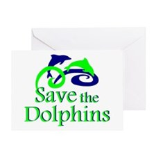 Save the Dolphins Greeting Card