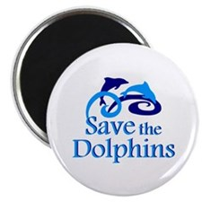 "Save the Dolphins 2.25"" Magnet (10 pack)"