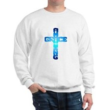 Amazing Grace Cross Sweatshirt