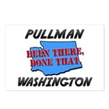 pullman washington - been there, done that Postcar