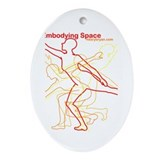Sacred Spaces Oval Ornament
