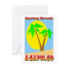 Spring Break Acapulco Greeting Card