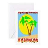 Spring Break Acapulco Greeting Cards (Pk of 20)